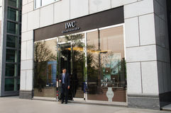 IWC store Stock Images