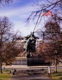 Iwo Jima纪念碑 库存照片