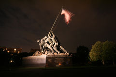 Iwo Jima纪念碑 库存图片