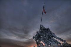 Iwo Jima Memorial. The Iwo Jima Memorial in Arlington, VA Royalty Free Stock Images