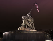 Iwo Jima Memorial Stock Photo