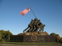 Free Iwo Jima Memorial Royalty Free Stock Photography - 1441967