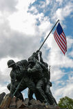 Iwo Jima Memorial. WASHINGTON DC - AUGUST 20: Iwo Jima statue in Washington DC on August 20, 2012. The statue honors the Marines who have died defending the US Stock Photo