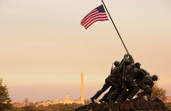 Iwo Jima Memorial In Washington, DC Stock Photos