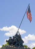 Iwo Jima Memorial Statue Stock Images