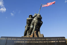Iwo Jima Memorial Royalty Free Stock Image