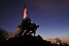 Iwo Jima minnesmärke Royaltyfri Bild