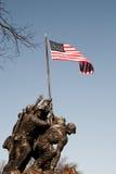 Iwo Jima minnesmärke arkivbilder