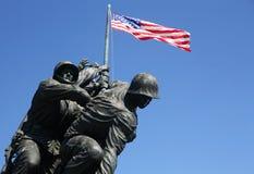 Iwo Jima minnesmärke royaltyfria foton