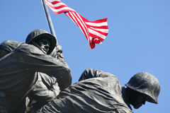 Iwo Jima minnesmärke Royaltyfria Bilder