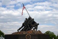 Iwo Jima minnesmärke Fotografering för Bildbyråer