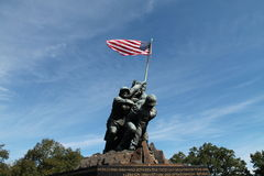 Iwo Jima. Monument Washington DC Stock Photo