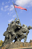 Iwo Jima pomnik Zdjęcia Stock