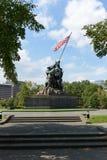 Iwo Jima pomnik Zdjęcie Royalty Free