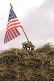 Iwo Jima Re-enactment Stock Image