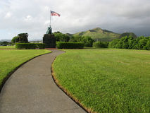 Iwo Jima Statue - MCAS Kaneohe Royalty Free Stock Photo