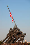 Iwo Jima statue in Washington DC Royalty Free Stock Photography