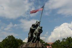 Iwo Jima Washington DC Arkivfoton