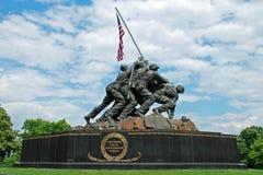 Iwo- Jimadenkmal im Washington DC Lizenzfreies Stockfoto