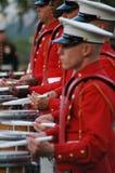 Iwo- Jimakrieg ErinnerungsArlington - Sonnenuntergang-Zeremonie stockfoto