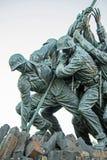 Iwogima-Flaggen-Soldat-Seite Lizenzfreies Stockbild