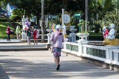 IX皇帝寺庙在曼谷,泰国 免版税图库摄影
