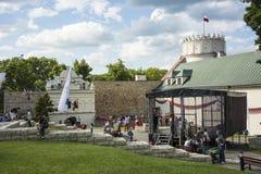IX Festival Casimir Castle Knights feast Stock Photography