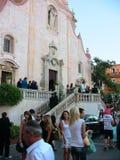 IX iglesia del ` s de San José del cuadrado de abril imagen de archivo