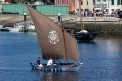 IX Meeting of Traditional Boats of Vila do Conde. Royalty Free Stock Photo
