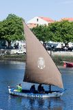 IX Meeting of Traditional Boats of Vila do Conde. Royalty Free Stock Photos