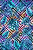 IX tropical - dessin géométrique abstrait photo stock
