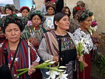 Ixil women Stock Photography