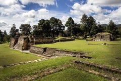 Iximche-Ruinen Stockbild