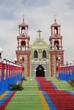 Ixtacuixtla church II Royalty Free Stock Images