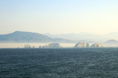 Ixtapa Shoreline Royalty Free Stock Photography