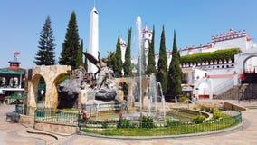 Ixtapan de la sal Mexiko springbrunn royaltyfri foto