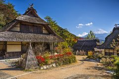Iyashi No Sato Village Royalty Free Stock Image