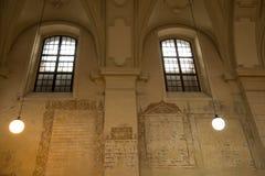 Izaac犹太教堂在克拉科夫 库存照片