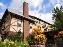 Izaak historique Walton Hotel près de parc national de glacier au Montana Photo libre de droits