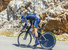 Izagirre Insausti, Individual Time Trial - Tour de France 2016 Royalty Free Stock Photos