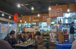 Izakaya, une barre de style japonais photographie stock libre de droits