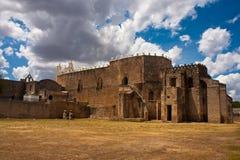 izamal kloster Arkivfoton
