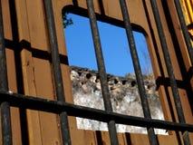 Izamal Mexico Yucatan church yellow City monastery convent Royalty Free Stock Images
