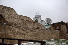 Izborsk fortress Royalty Free Stock Photos