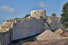 Izborsk fortress Royalty Free Stock Images