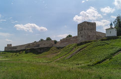 The Izborsk fortress, Pskov region,Russia. Royalty Free Stock Images