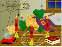 izbowe czarownicy Zdjęcie Royalty Free