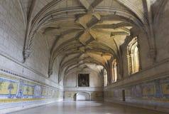 Izbowi wnętrza Jeronimos monaster Zdjęcia Stock