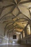 Izbowi wnętrza Jeronimos monaster w Lisbon Zdjęcia Royalty Free