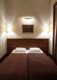 Izbowy dwoisty łóżko Obrazy Royalty Free